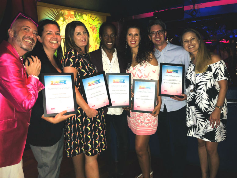 Travel Pride Champions - winners revealed