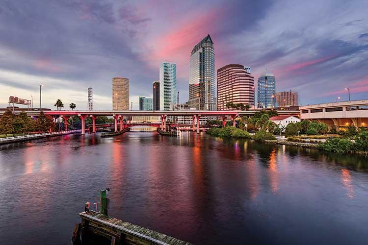 Tampa is one area Thomas Cook will be promoting
