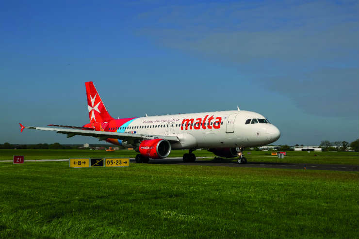 Air Malta will restart Heathrow flights from 15 July