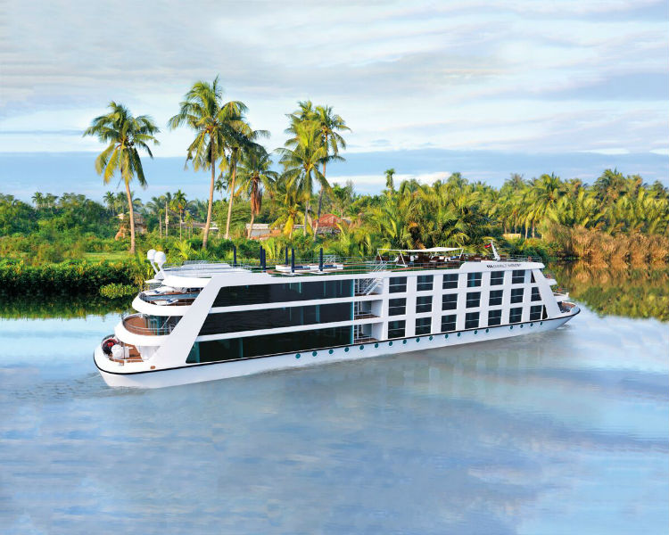Emerald Waterways launches ship on the Mekong