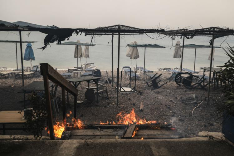 Greek authorities find 'serious indications' arson caused deadly wildfires
