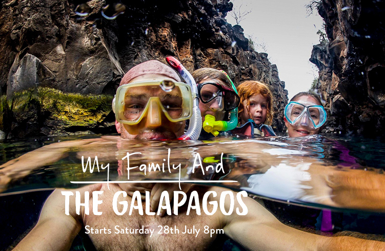 'My Family and the Galapagos' star to open Wildlife & Safari Travel Show – plus win tickets