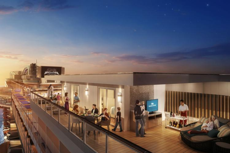 Princess Cruises unveils new Sky Suites for Sky Princess