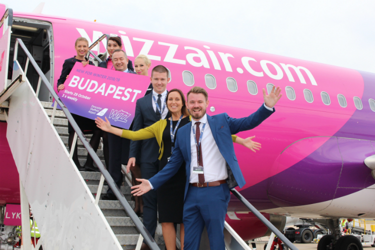 Wizz Air adds new Doncaster Sheffield to Budapest route