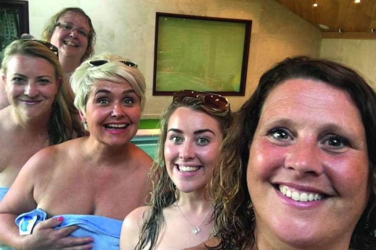 Travel agents bare all for charity