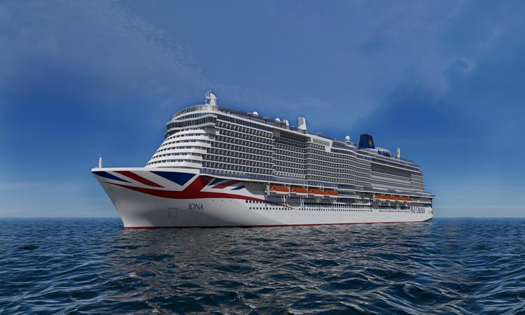 Watch the keel-laying ceremony for P&O Cruises' Iona