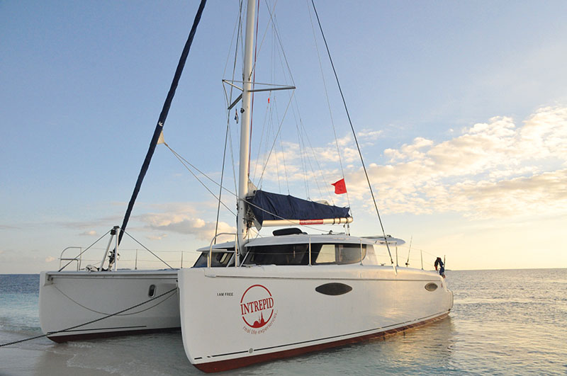 Setting sail in the Bahamas