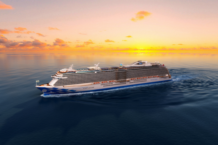 Princess Cruises names fifth Royal-class ship Enchanted Princess
