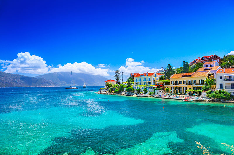 Greek island hopping in Kefalonia and Ithaca