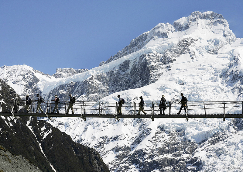 Hiking the Hooker Valley