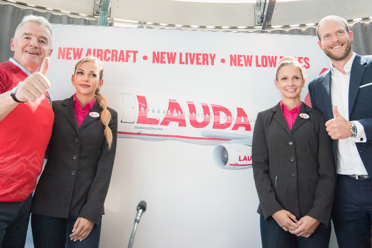 Laudamotion to double Airbus fleet following Ryanair investment