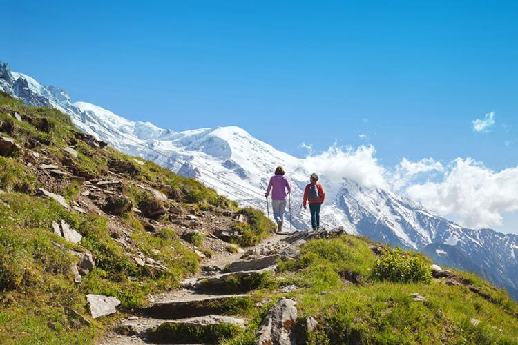 Circumnavigating Mont Blanc
