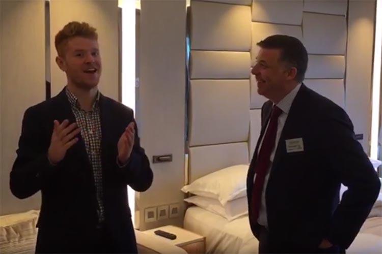 Azamara Pursuit: TTG talks to UK boss Richard Twynam