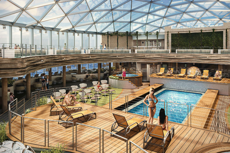 P&O unveils 'SkyDome' onboard Iona