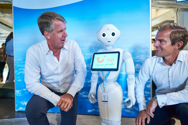 Meet Tui's first ever robotic employee Pepper