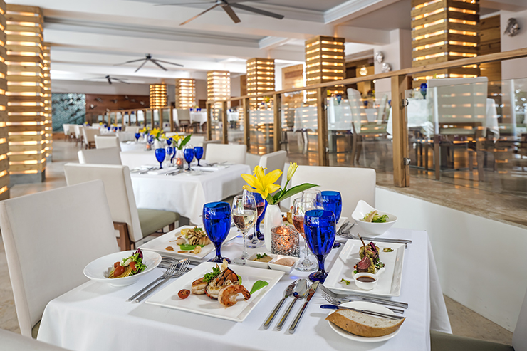 3. Sandals Resorts provides five-star, global, gourmet dining