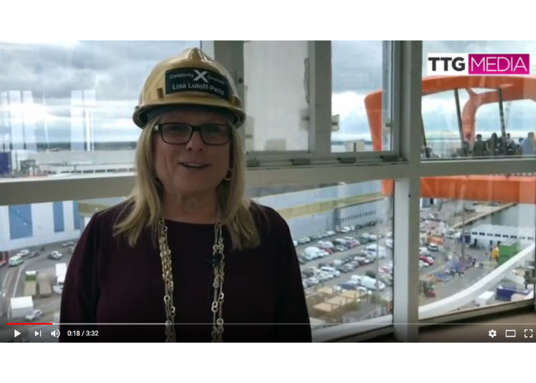First glimpse of Celebrity Edge