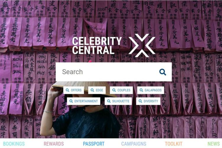 Celebrity Cruises reveals new 'market-leading' agent portal