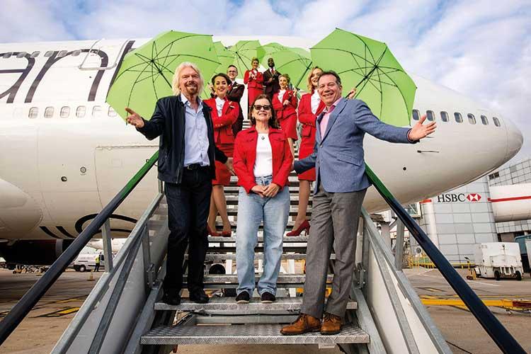Virgin LanzaTech Gatwick launch