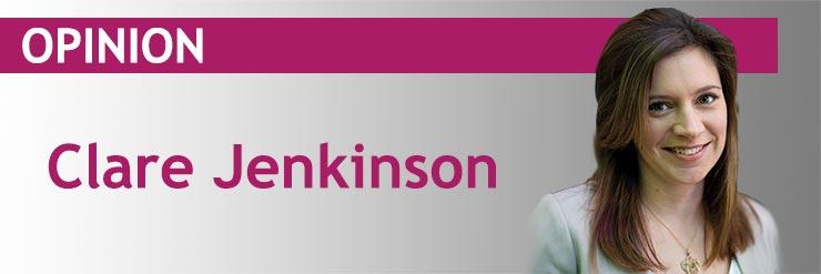 Clare Jenkinson Opinion