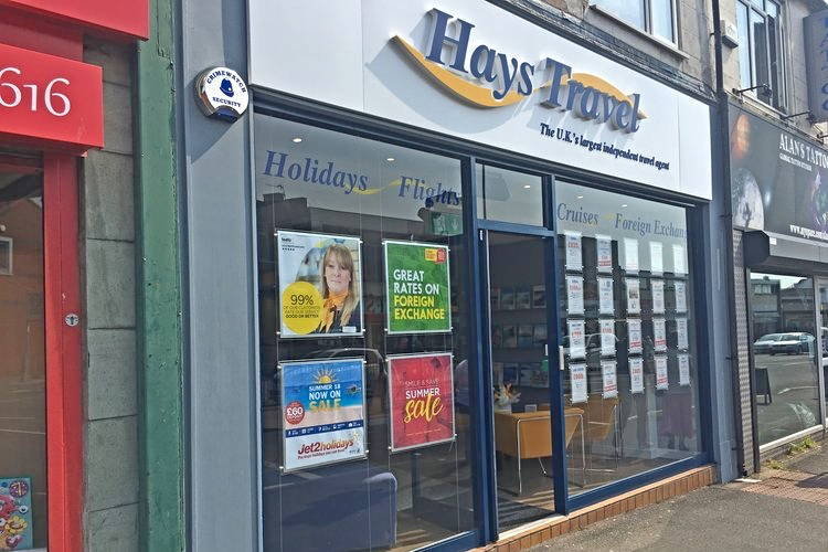 Hays Travel has now reopened most of its 600 shops