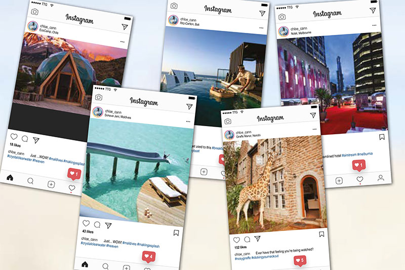 Instagram-worthy hotels to boost clients' digital kudos