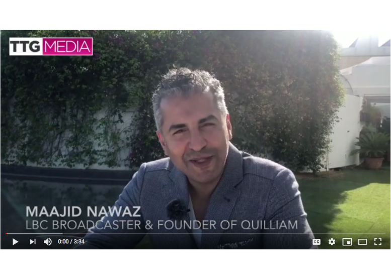 �� Maajid Nawaz on tackling terrorism and travel as a force for good