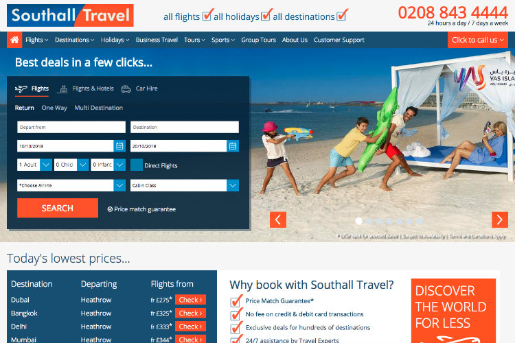 Southall Travel shoots up prestigious Sunday Times Top Track 250 league