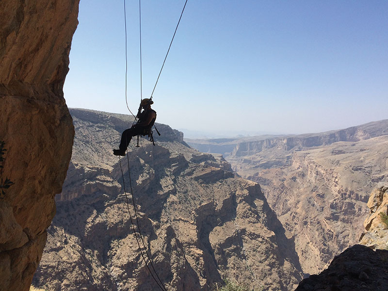 4. The vertigo-inducing via ferrata