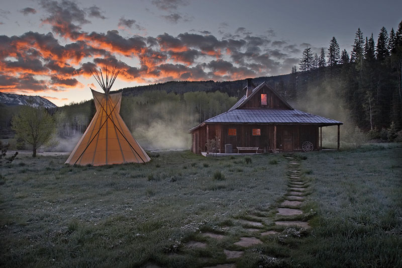 Stay in an American ghost town
