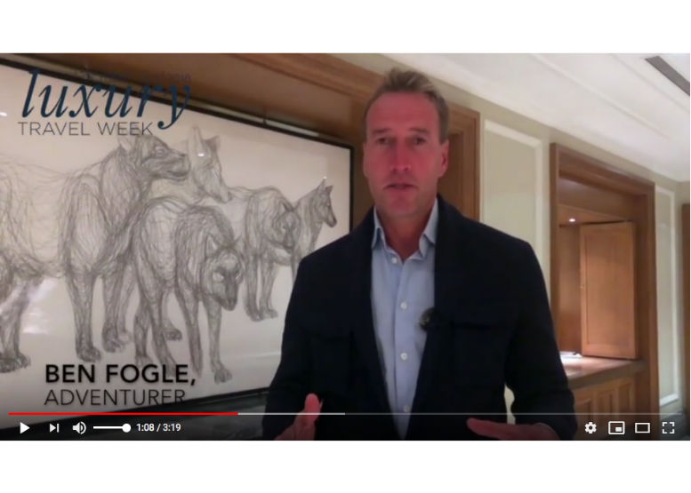 🎥 Luxury Travel Week: Ben Fogle urges agents to 'climb their own Everest'
