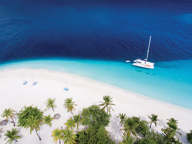 Escape to a private Caribbean island