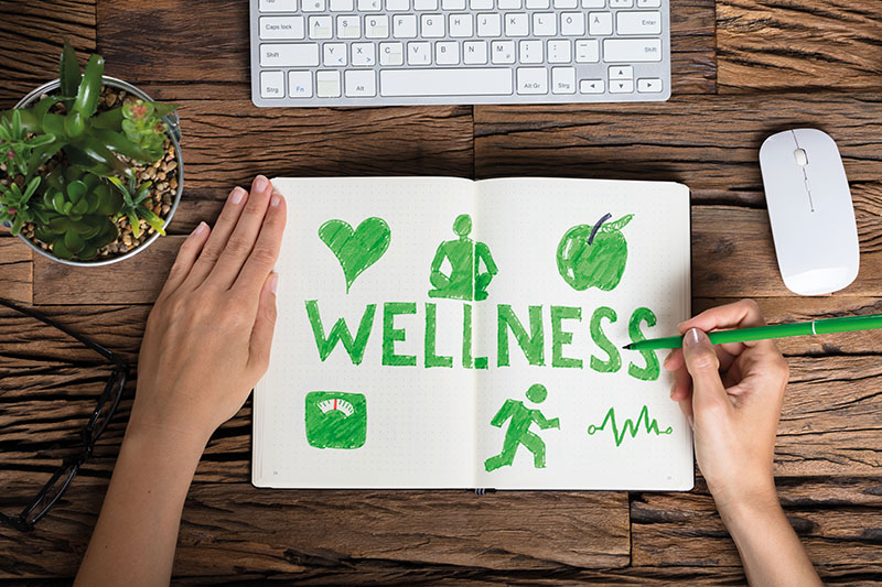 Top five ways to improve your wellbeing