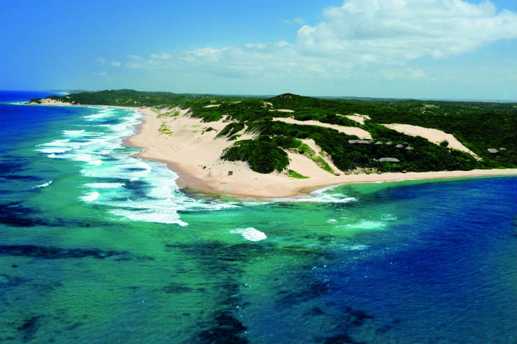 African beaches to twin with safaris