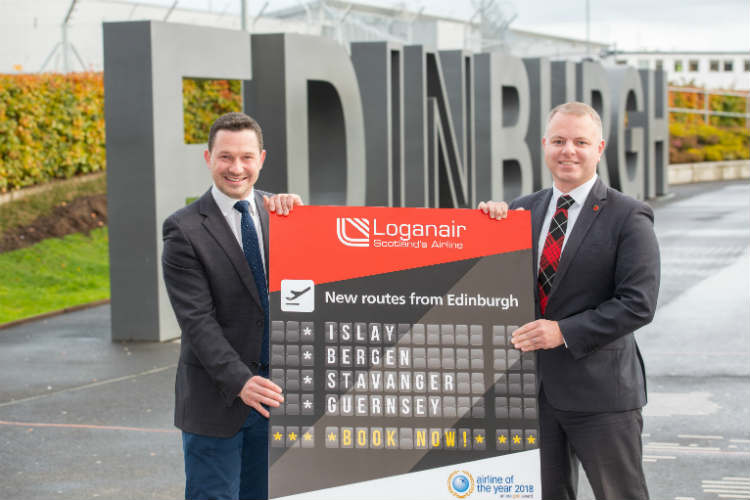Loganair to launch four new Edinburgh services