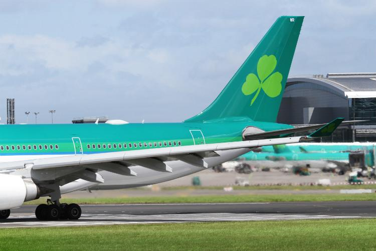 Aer Lingus carries record 2.5 million transatlantic passengers