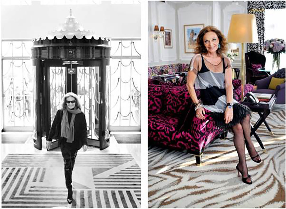 Diane Von Furstenberg to design Claridge's Christmas tree