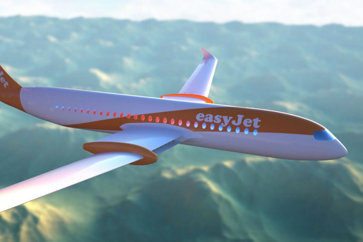 EasyJet targeting 'fully electric' fleet by 2050