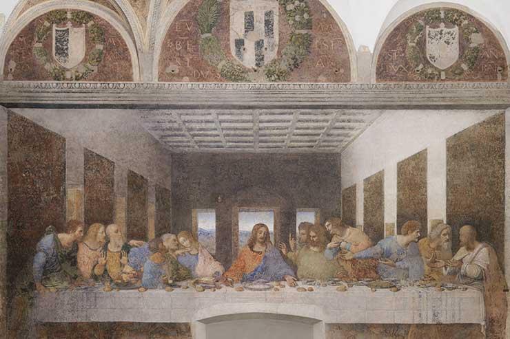 Leonardos last supper