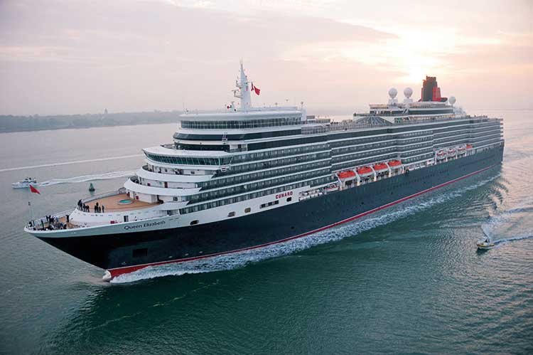 Agents to Shine with Cunard's rewards club