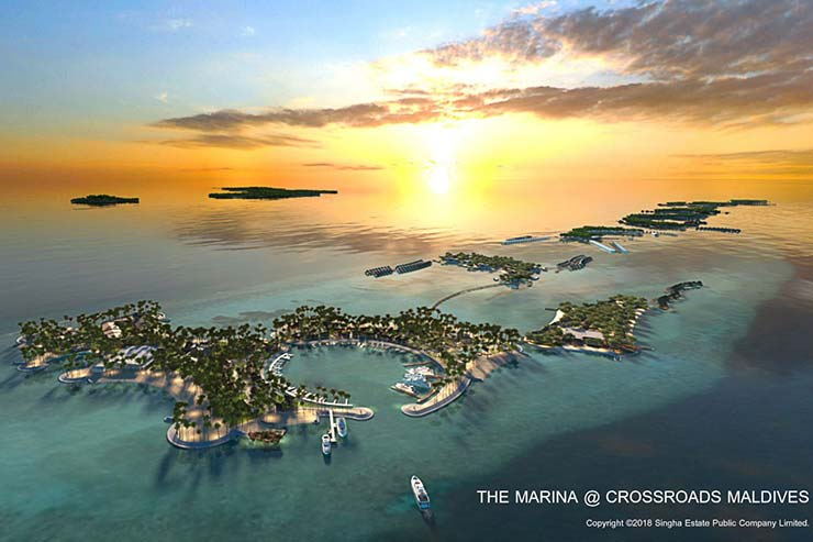 THE MARINA @ CROSSROADS, MALDIVES development
