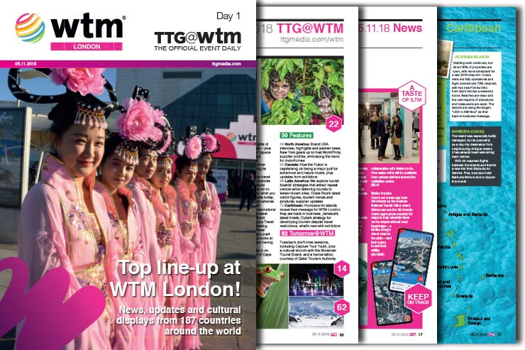 WTM 2018 Day One Official Daily Magazine