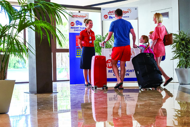 Jet2holidays extends free resort flight check-in and luggage service