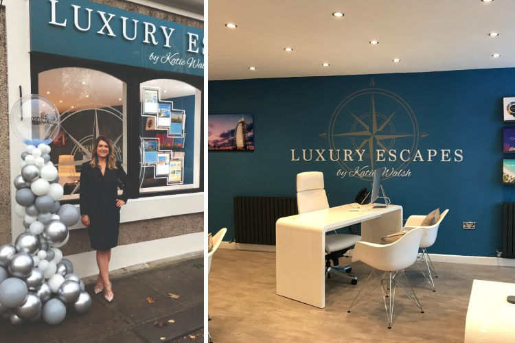 Lancashire homeworker Katie Walsh opens first luxury agency