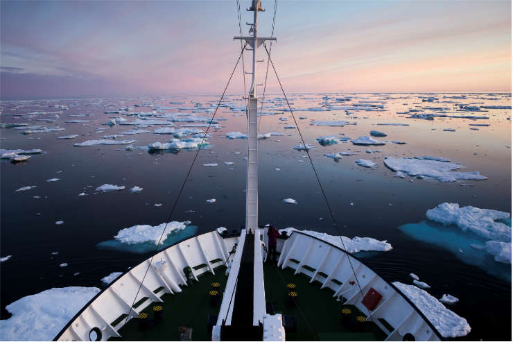 Selling Greenland to cruise-loving clients