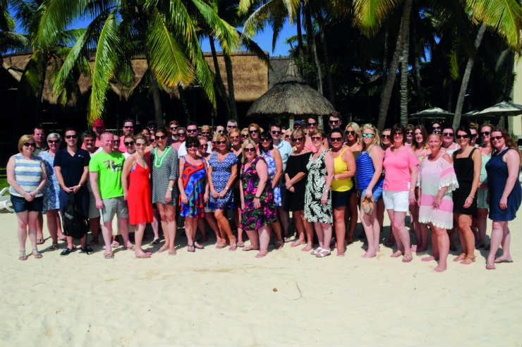 Hitting the road on a Beachcomber Mauritius fam