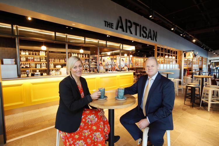 Belfast City Airport opens £15 million terminal refurb.JPG