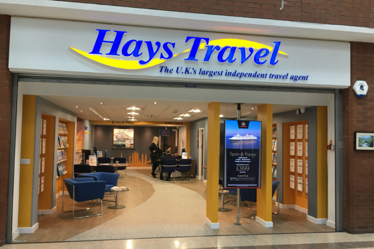 Hays Travel is taking on all 555 of Thomas Cook's UK retail stores