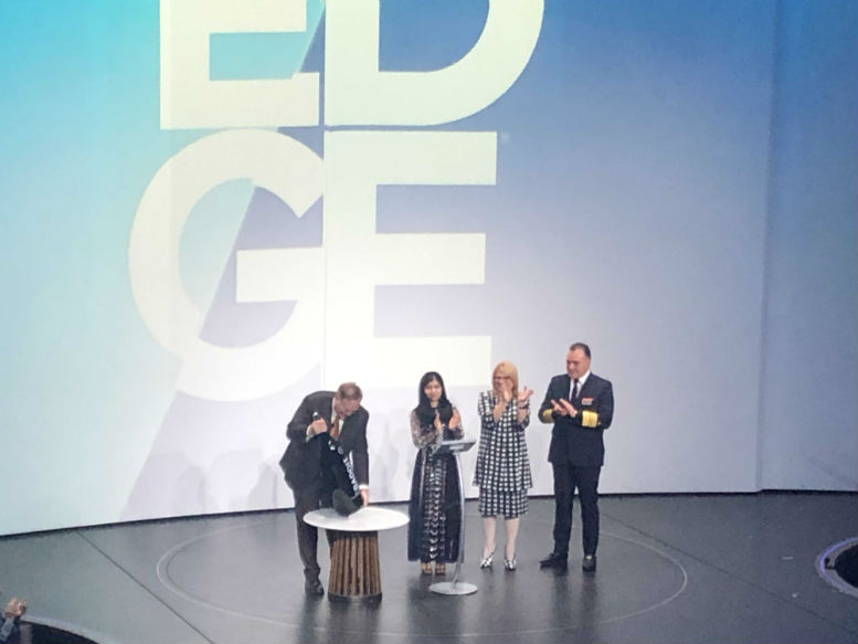 Celebrity Edge is christened - in a ceremony with a difference