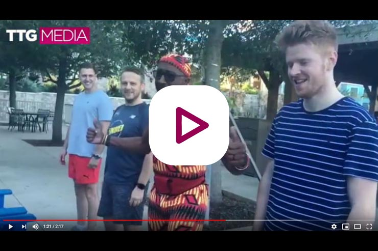🎥 Working out with Mr Motivator (and TTG)